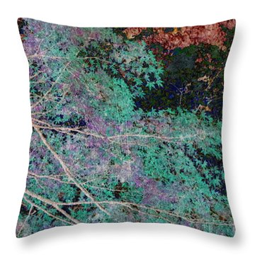 A Forest Of Magic Throw Pillow