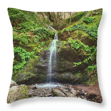 Throw Pillow featuring the photograph A Little Bit Of Love by Laurie Search
