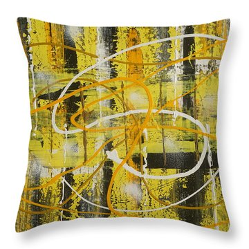 Abstract_untitled Throw Pillow
