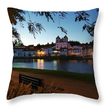 Throw Pillow featuring the photograph Alcacer Do Sal by Carlos Caetano