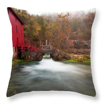 Alley Mill Throw Pillow