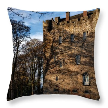 Throw Pillow featuring the photograph Alloa Tower by Jeremy Lavender Photography