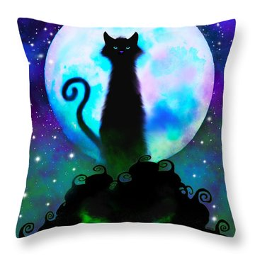 Another Spooky Night Throw Pillow