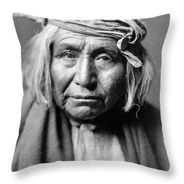 Apache Man, C1906 Throw Pillow by Granger