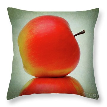 Apples Throw Pillow by Bernard Jaubert