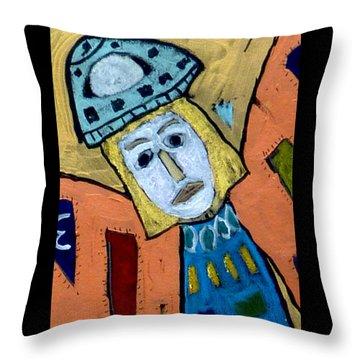Archangel Zadkiel Throw Pillow