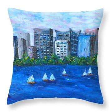 Art Study Throw Pillow