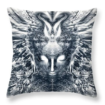 Ascended Grace Throw Pillow
