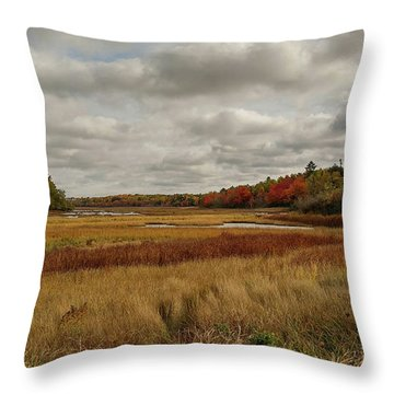 Autumn  Throw Pillow by Jewels Blake Hamrick