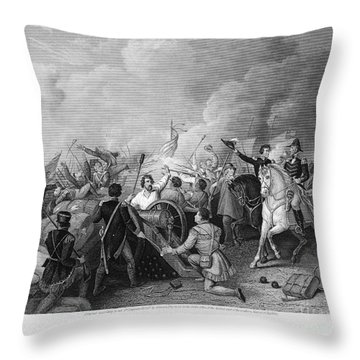 Battle Of New Orleans Throw Pillow by Granger