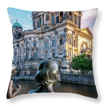 Berlin Throw Pillow