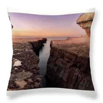 Blata Tal-melh - Salt Rock Throw Pillow