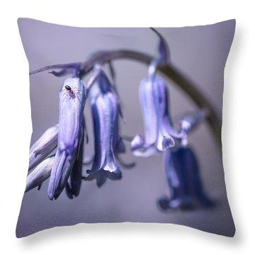 Bluebell Throw Pillow