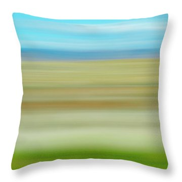 Book Cliffs Throw Pillow