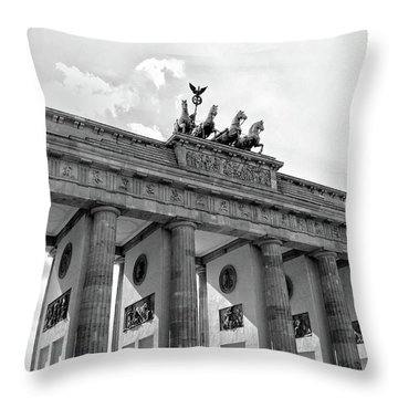 Brandenburg Gate - Berlin Throw Pillow