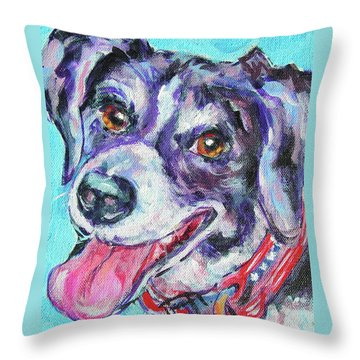 Buddy Throw Pillow