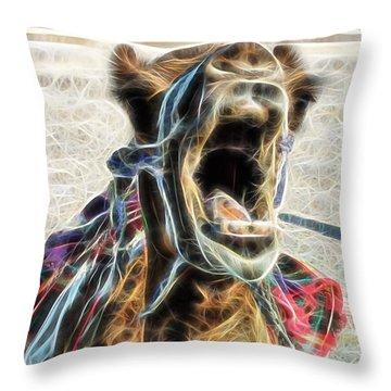 Camel Collection Throw Pillow