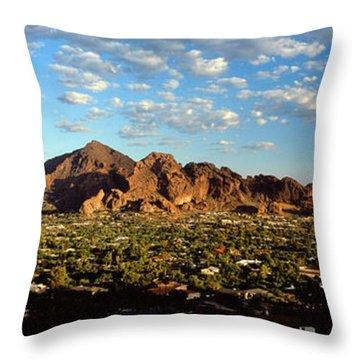 Camelback Mountain, Phoenix Arizona Throw Pillow