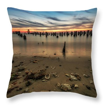 Throw Pillow featuring the photograph Cape Charles by Kevin Blackburn