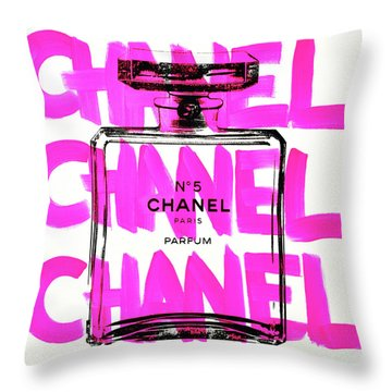 Chanel Chanel Chanel  Throw Pillow