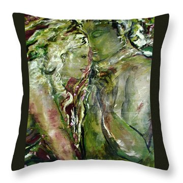 Cigar Interlude Throw Pillow