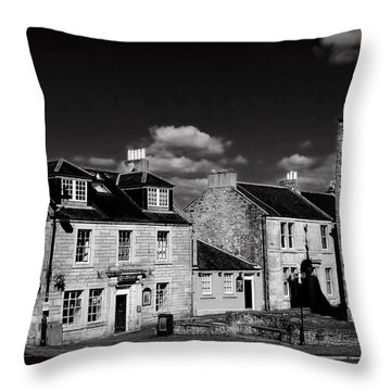 Clackmannan Throw Pillow by Jeremy Lavender Photography