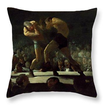 Club Night Throw Pillow