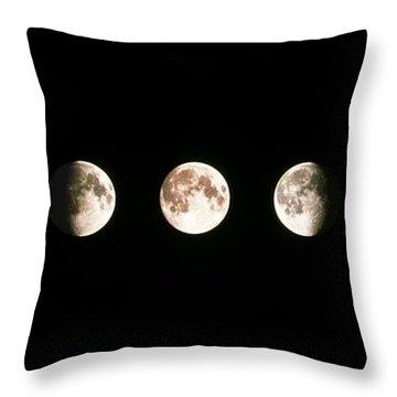 Full Moon Throw Pillows