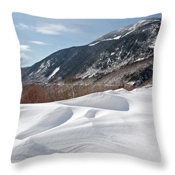 Crawford Notch State Park  - White Mountains New Hampshire  Usa Throw Pillow by Erin Paul Donovan