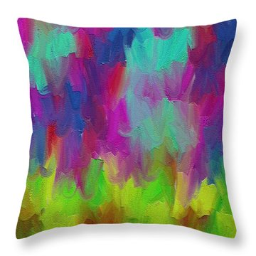 Dance  Throw Pillow by Ely Arsha