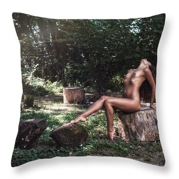 Dany Throw Pillow by Traven Milovich