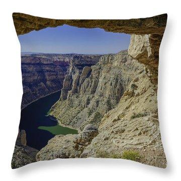Devils Overlook Throw Pillow