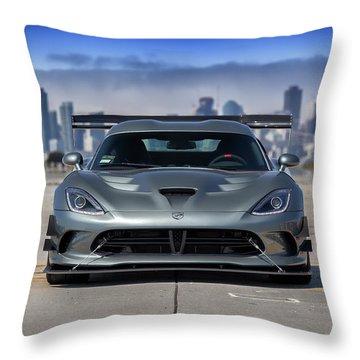 #dodge #acr #viper Throw Pillow