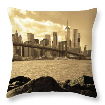 Throw Pillow featuring the photograph Dream by Mitch Cat