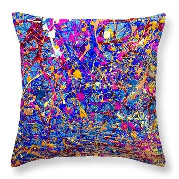 Dripx 6 Throw Pillow