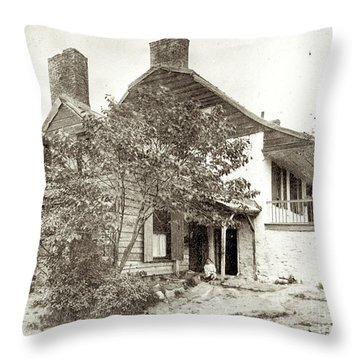 Dyckman House Throw Pillow