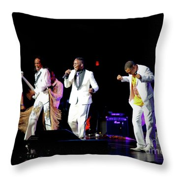 Earth Wind And Fire Throw Pillow by April Sims