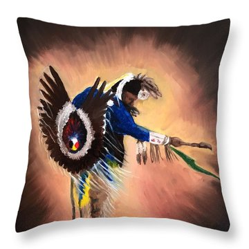 Everybody Dance #1 Throw Pillow