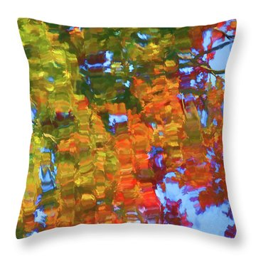 Perfect Lake Throw Pillow by Lanjee Chee