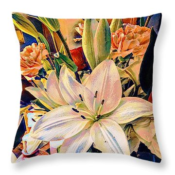 Flowers For You Throw Pillow
