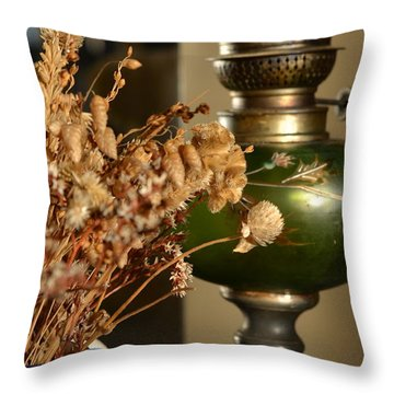French Country Throw Pillow by Corinne Rhode