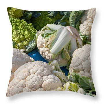Fresh Vegetables Throw Pillow