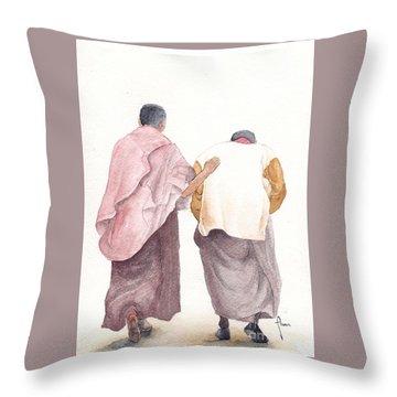 Friends Throw Pillow by Annemeet Hasidi- van der Leij