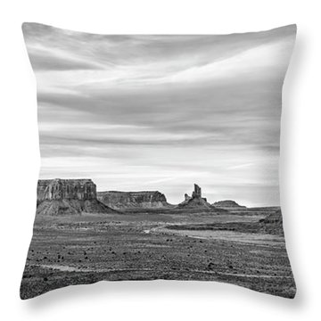 Throw Pillow featuring the photograph From Artist's Point by Jon Glaser