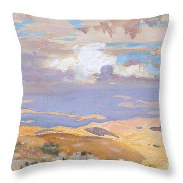 Sunset Strip Throw Pillows