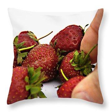 Fruchtig  Throw Pillow