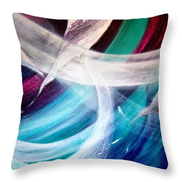 Gaia Symphony Throw Pillow