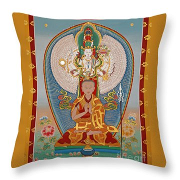 Gelongma Palmo Throw Pillow