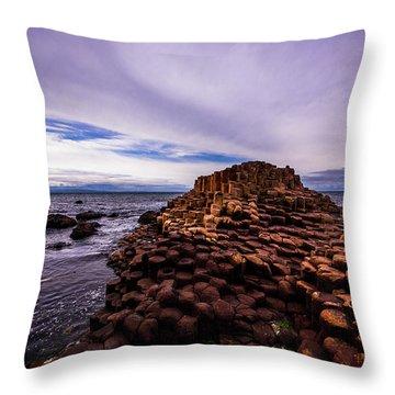 Giant's Causeway Throw Pillow