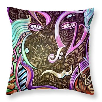 Gifted Throw Pillow